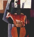 malevich cow and violin