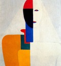 malevich female half figure 1928