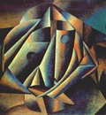malevich head of a peasant girl 1912