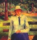 malevich jobless girl c1930