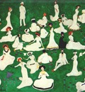 malevich relaxing high society in top hats