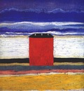 malevich the red house c1932