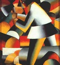 malevich the woodcutter