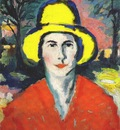 malevich woman with yellow hat dated