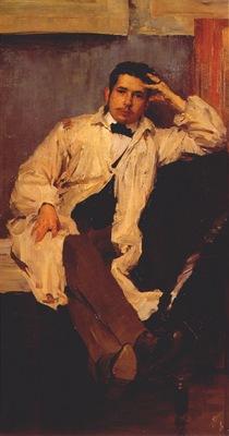 malyavin portrait of k a somov