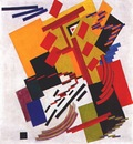 rozanova nonobjective composition suprematism ii