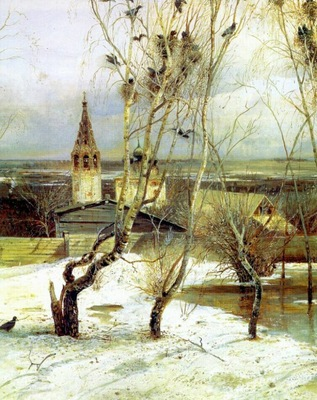 savrasov the rooks have returned