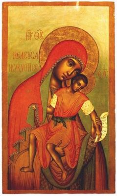 ushakov the eleusa kiksk mother of god