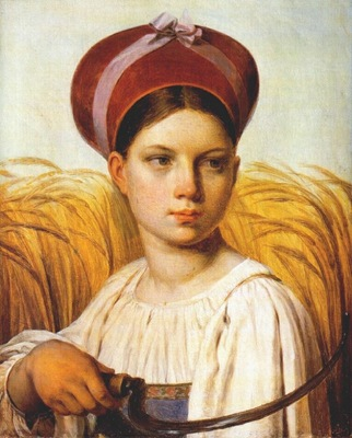 venetsianov reaper 1820s