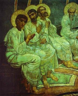 Pentecote, Detail