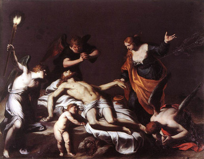 TURCHI Alessandro The Lamentation Over The Dead Christ