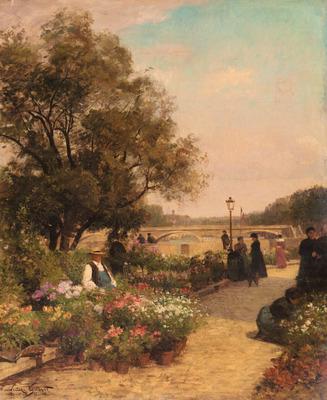 Gilbert Vibert Gabriel Quai Aux Fleurs
