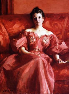Stevens Alfred Portrait of Mrs  Howe nee Deering