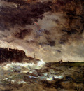 Stevens Alfred A Stormy Night