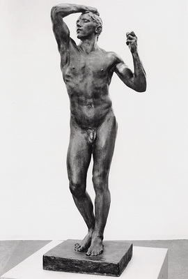 Rodin Auguste The age of bronze BW