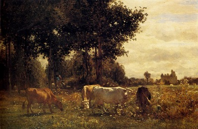 Troyon Constant Cows Grazing