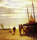 Troyon Constant BEACH AT TROUVILLE