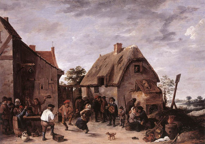 teniers david the younger flemish kermess