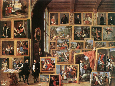 teniers david the younger the gallery of archduke leopold in brussels