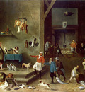 TENIERS David the Younger The Kitchen