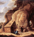 TENIERS David the Younger The Temptation Of St Anthony