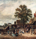 TENIERS David the Younger The Village Feast