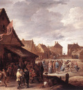 TENIERS David the Younger Village Feast