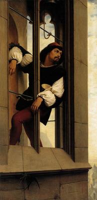 STEINLE Edward Jakob von The Tower Watchman