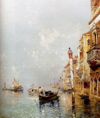 Unterberger Franz Richard Canale Della Giudecca