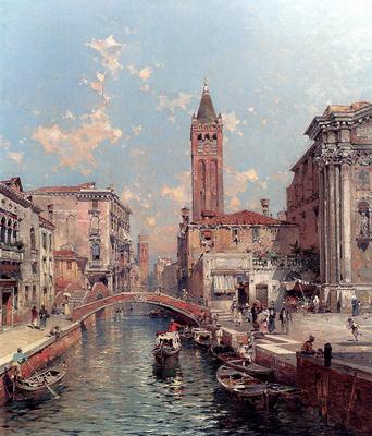 Unterberger Franz Richard Rio Santa Barnaba Venice