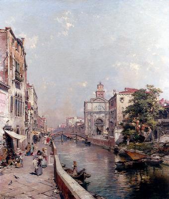 Unterberger Franz Richard Rio St Geronimo Venezia