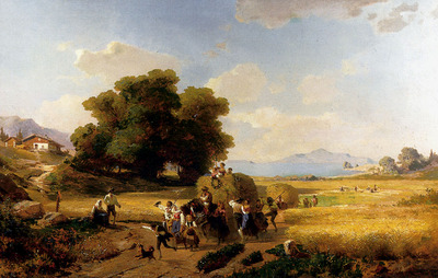 Unterberger Franz Richard The last Day Of The Harvest