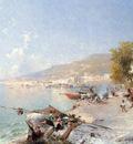 Vietri Sul Mare Looking Towards Salerno