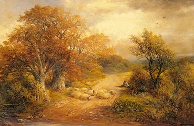 Turner George A Derbyshire Water Lane