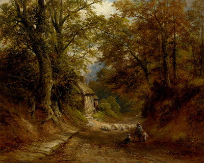 Turner George The Old Cottage Littleover Lane