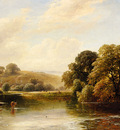 Turner George The Trent Near Ingleby