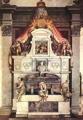 Vasari Monument to Michelangelo