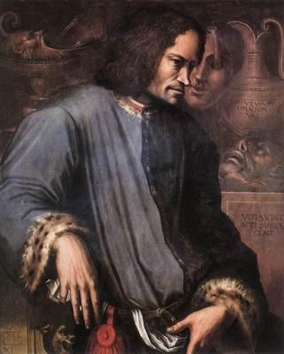 Vasari Portrait of Lorenzo the Magnificent
