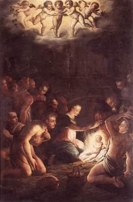 Vasari The Nativity