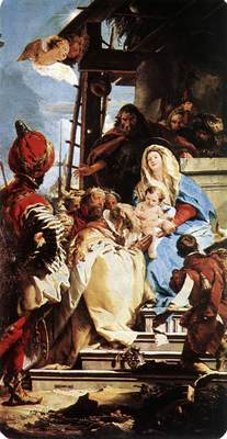 Tiepolo Adoration of the Magi