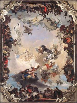 Tiepolo Allegory of the Planets and Continents