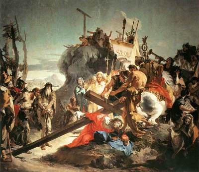 Tiepolo Christ Carrying the Cross