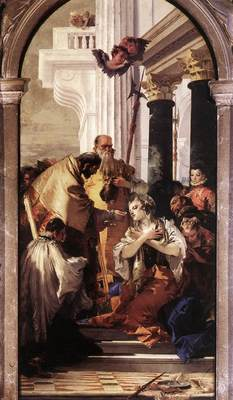 Tiepolo Last Communion of St Lucy