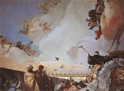 Tiepolo Palacio Real Glory of Spain detail2