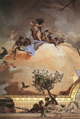 Tiepolo Palacio Real Glory of Spain detail3