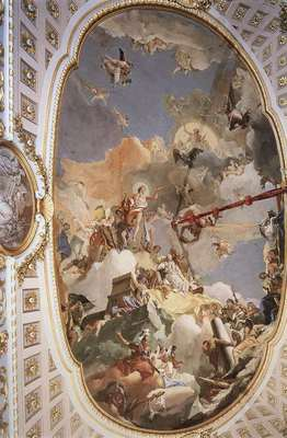 Tiepolo Palacio Real The Apotheosis of the Spanish Monarchy