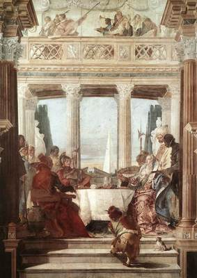 Tiepolo Palazzo Labia The Banquet of Cleopatra