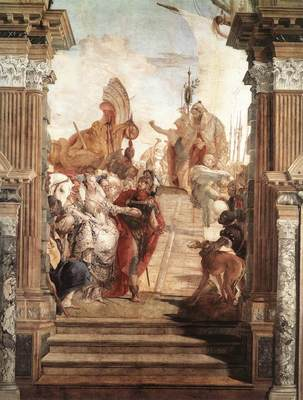 Tiepolo Palazzo Labia The Meeting of Anthony and Cleopatra