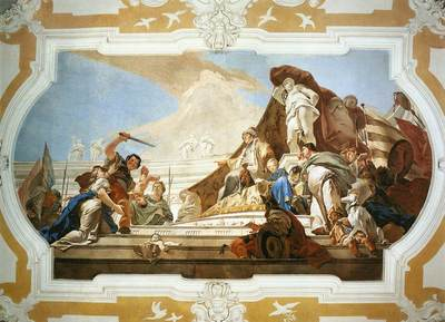 Tiepolo Palazzo Patriarcale The Judgment of Solomon