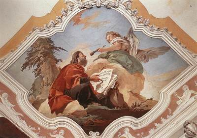 Tiepolo Palazzo Patriarcale The Prophet Isaiah